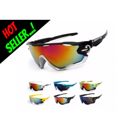 Hot Seller Sport Glasses For Men/Women Cycling Running Golf Driving Fishing Hiking Outdoor Sports UV400 Protection Very Good Quality Available In 14 Colors